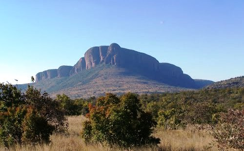 The Waterberg provides a perfect backdrop