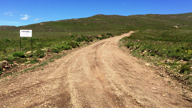 Start of the ben MacDhui Pass