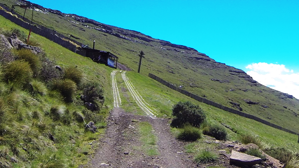 Driving the first switchback