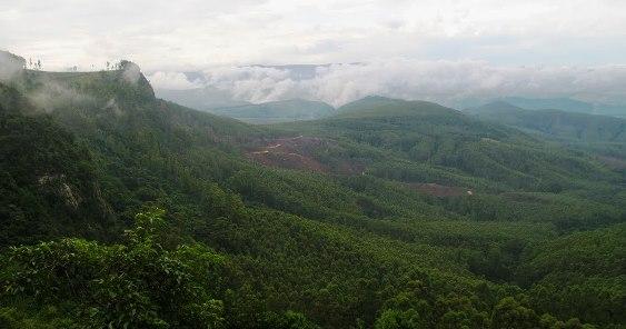 Summit views Bothas Nek Pass