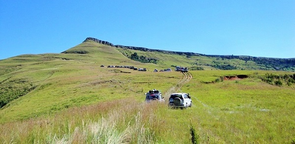 Stunning offroad driving in the Berg
