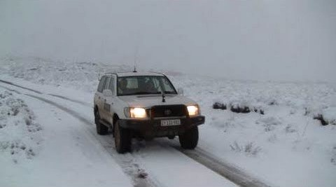Some great snow driving on offer if have a 4x4
