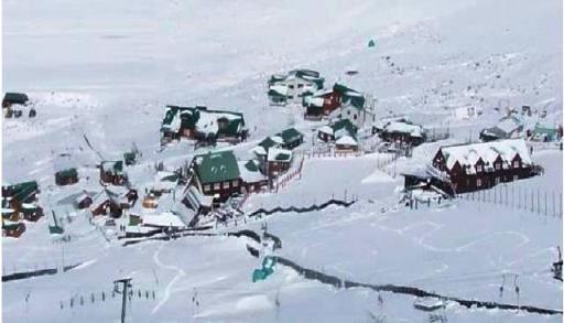 Tiffindell from the ski slope