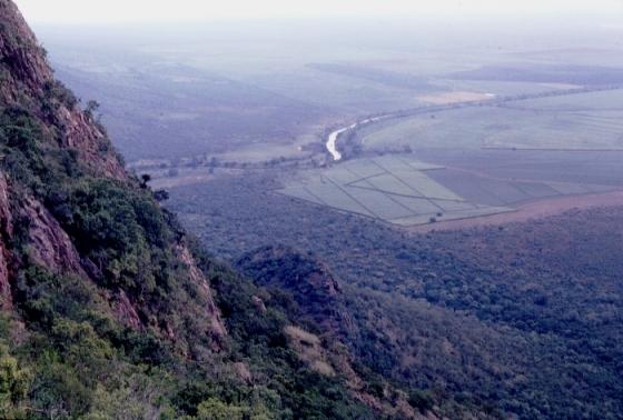 Spectacular views over the Ingwavuma River valley