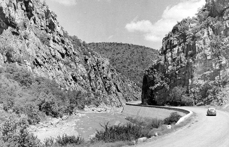 Chunie's Poort circa 1950