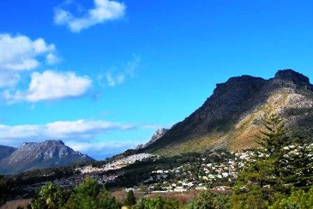 View SW towards Hout Bay