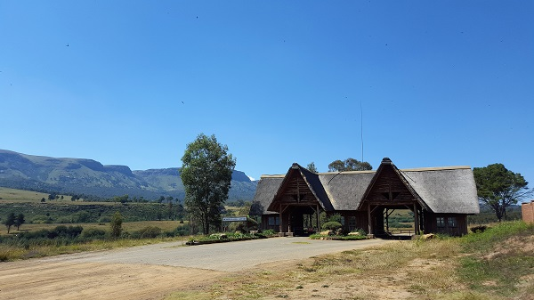 The entrance/reception to the Platberg Nature Reserve