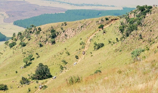 Donkies Pass ascent