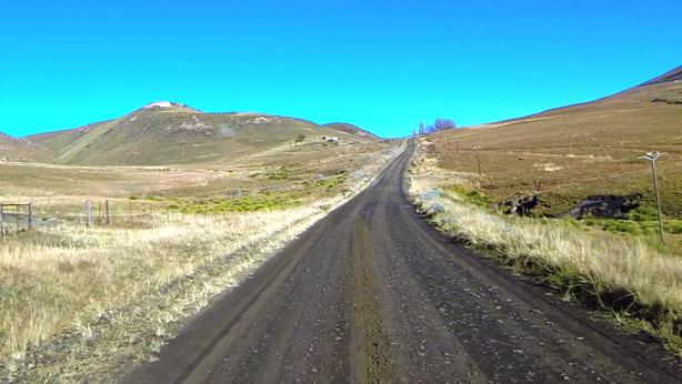 Start of the Fetcani Pass