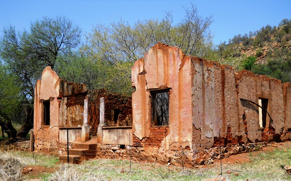 A ruin on the route