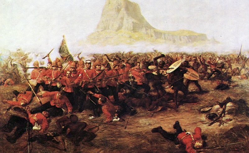 Battle of Isandlwana (Painting by Charles Edwin)