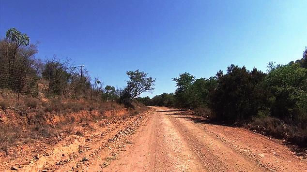 A fairly rough road