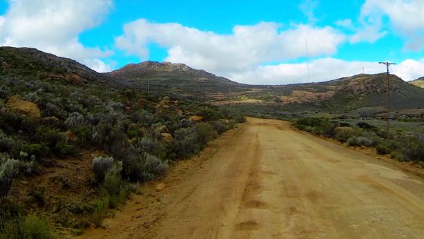 Leliesfontein Pass northern start