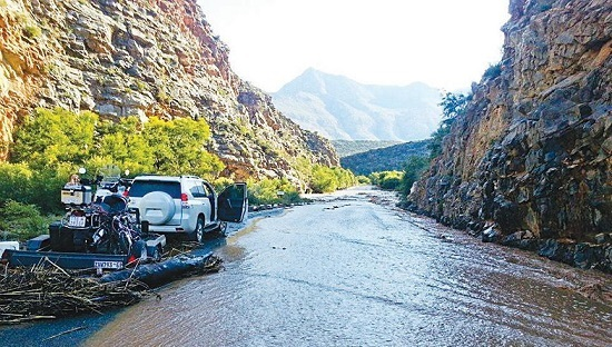 The poort recently suffered severe flooding