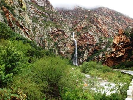 A waterfall in meiringspoort