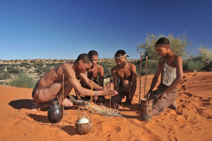 KhoiSan tribes in the Northern Cape