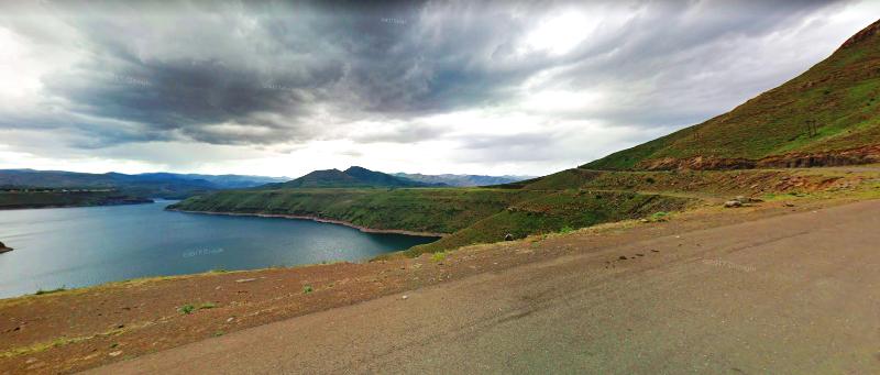 Katse Dam views