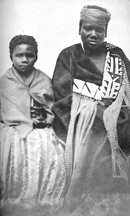 Nongqawuse on the right