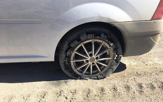 R355 eats tyres for breakfast