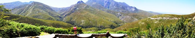 Outeniqua pass view-site