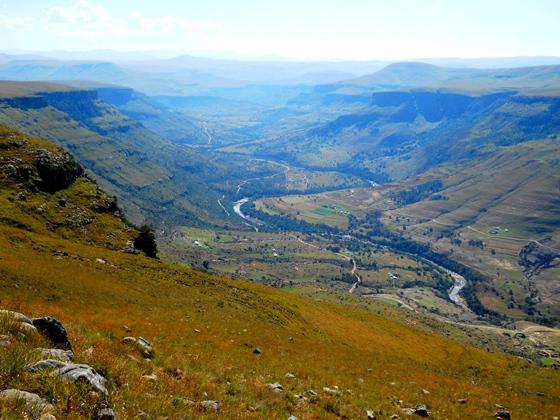 East view Xuka Canyon