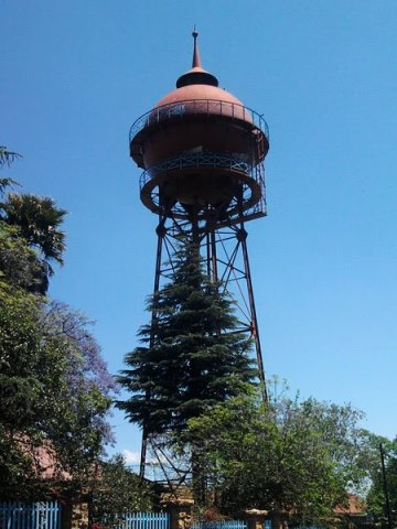 The water tower in Yeoville