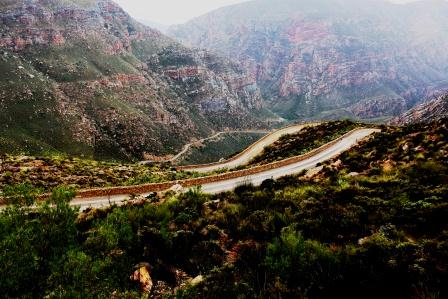 Hairpins for Africa on the Swartberg pass