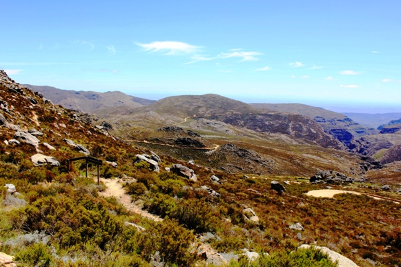 Swartberg Pass Summit view north