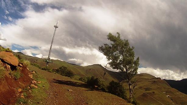 The radio mast view site
