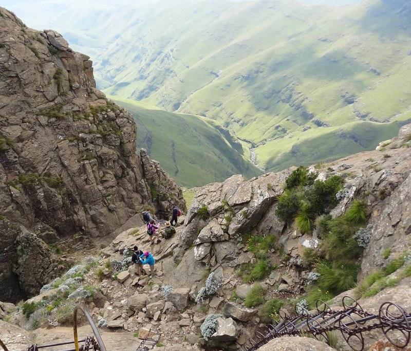 Sentinel Peak chain ladders