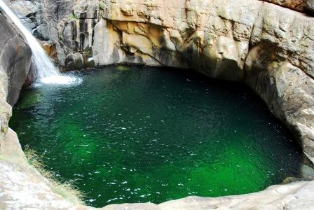The pool at the waterfall - Meiringspoort