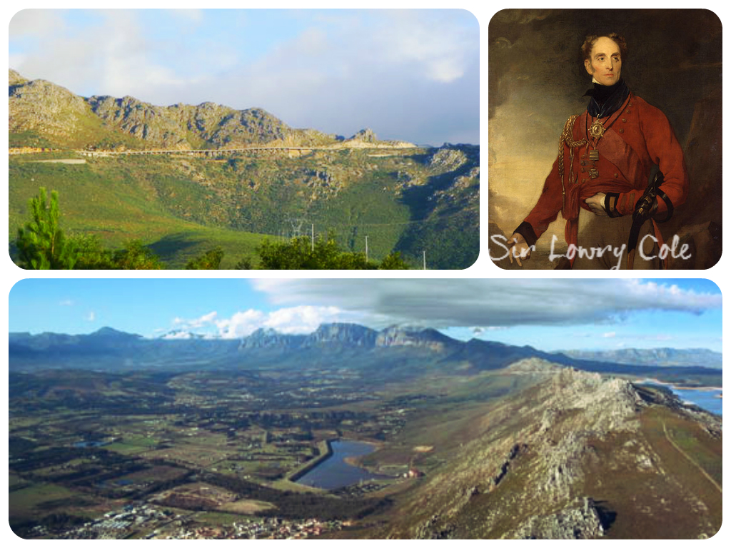 Sir Lowrys Pass collage