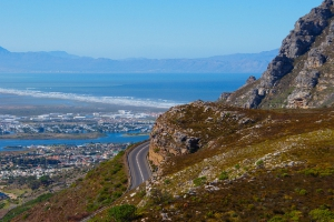 View from summit of Ou Kaapse Weg