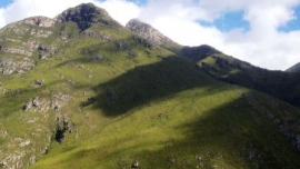 Langeberg Mountains in the Garcia Pass