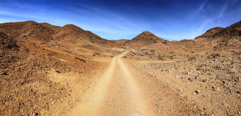 The Richtersveld - the bluest skies in Africa