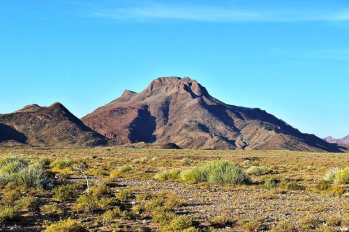 Feast your eyes on the mountain desert landscape