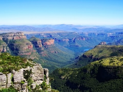 Some of the best views anywhere in South Africa at Mariepskop