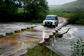 Crossing the Umzimkulu River