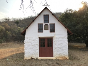 Chapel at the Sheba Mine Cemetry