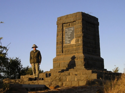 Memorial at Elandslaagte