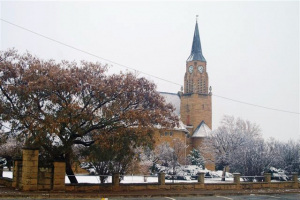 Winter in Marquard, Free State
