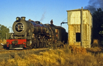 The golden days of steam at Thaba Nchu