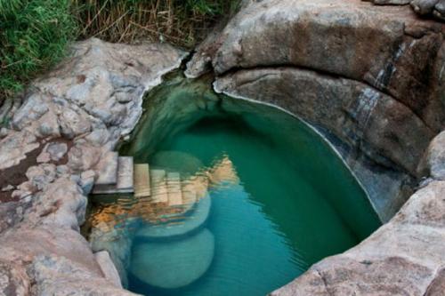 Hot springs at Riemvasmaak