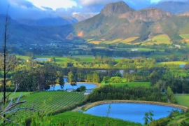 Franschoek Pass lower views