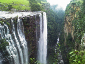 Magwa Falls without the mist