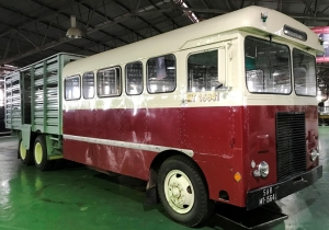 The ERF Tri-Compo SAR&H bus that broke the Face Book records