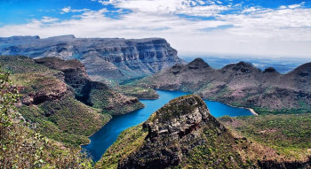 Blyderivierspoort or Molatse Canyon
