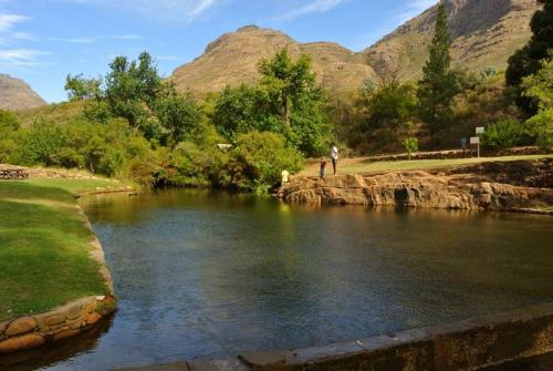 Rock pool at Algeria, Cederberg