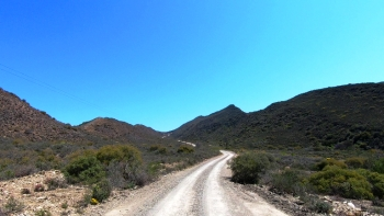 Eastern ascent of the Doornkloof Pass