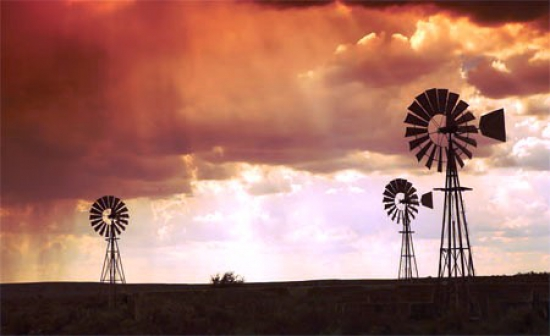 Windmills - an iconic symbol of the Karoo